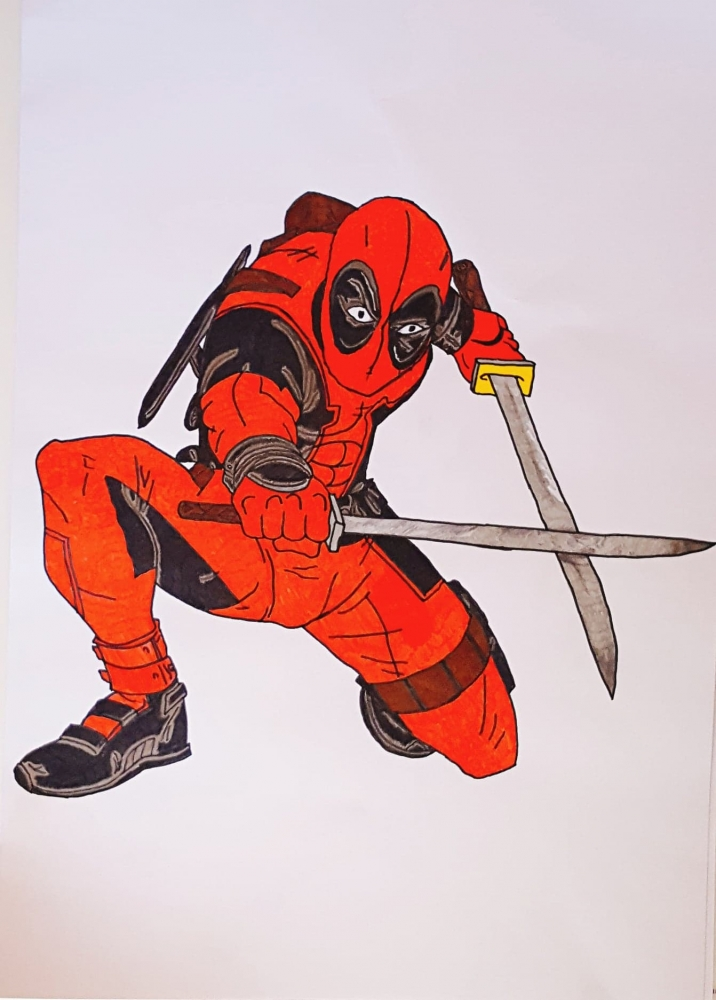 Deadpool par audreyD